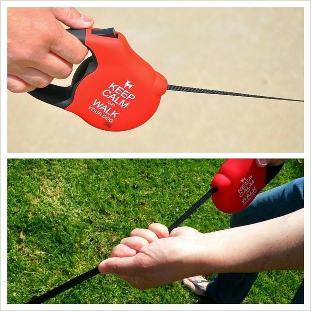 Siempre sujete la correa por el mango, NUNCA por el cable / correa. Sosteniendo el cable / cinta mientras's retracting may cause injury.