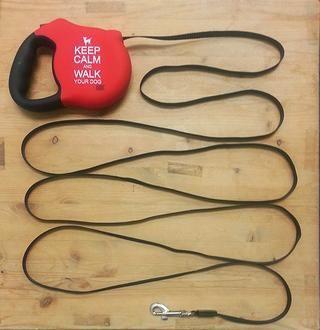 Si su correa se moja durante su paseo, extender la correa para que's maximum length to let it dry.