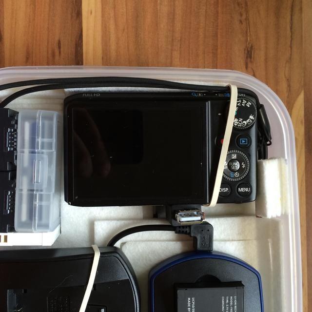 Siempre que tengas un gadget que todavía es un poco flojo, se puede arreglar con una pequeña banda de goma. Éste añadió que lo que los doesn cámara't move when the lid is off.