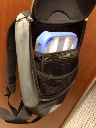 Póngalo en una mochila para practicar senderismo o ciclismo.