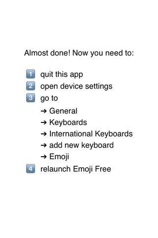 Este Emoji viene con direcciones ... pero no todos lo hacen!