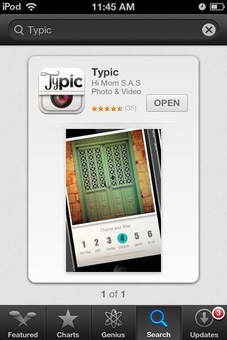 Esta es la aplicación que'll be using.