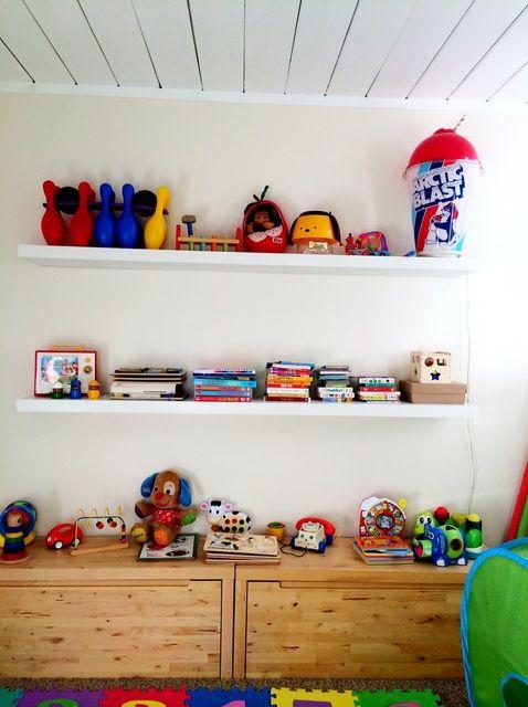 Fotografía - Cómo poner una falta Ikea Shelf la manera segura.