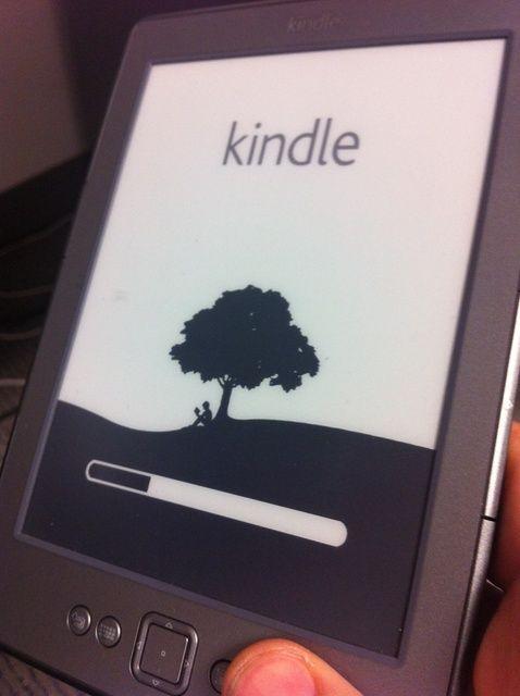 Cómo reiniciar el Kindle