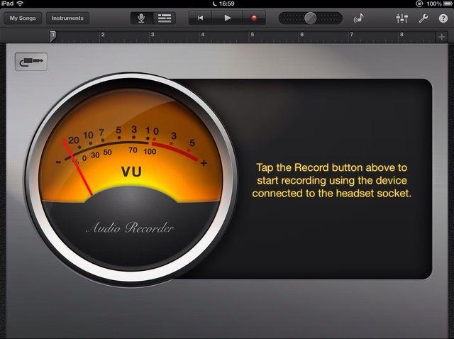 Fotografía - Cómo grabar audio en un dispositivo iOS de otra fuente