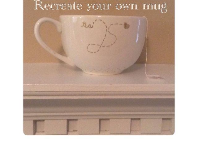 Cómo volver a crear su propia taza