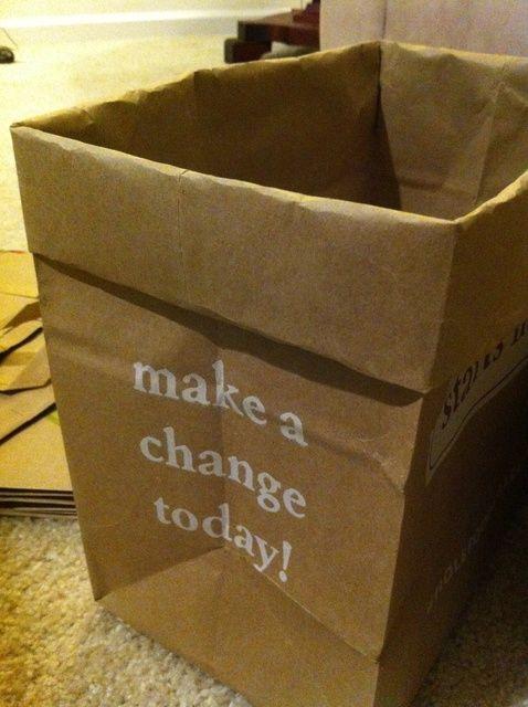 Cómo reciclar bolsas de papel