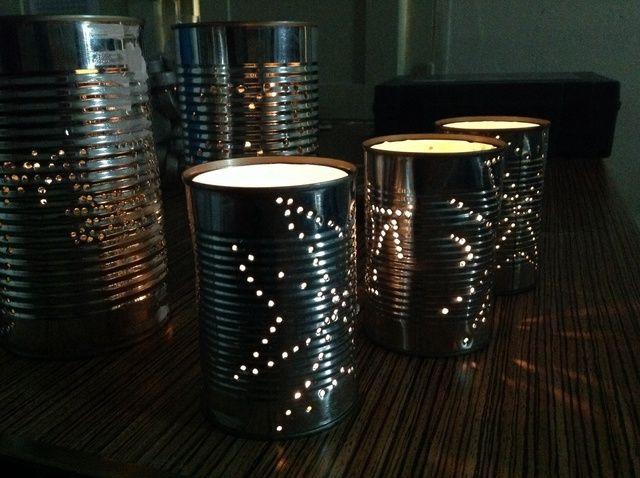 Cómo reciclar las latas de estaño usados