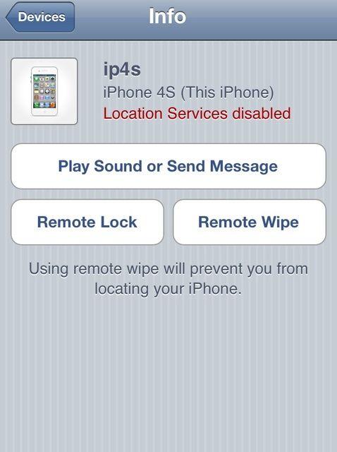 Cómo bloquear de forma remota o Limpie su iPod iPad iPhone Touch