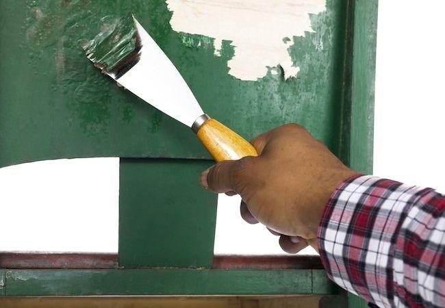 Fotografía - Cómo: quitar la pintura de madera