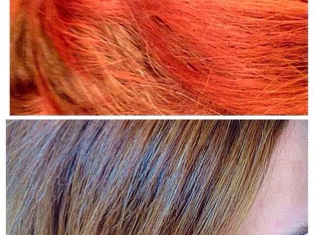 Cómo quitar Color de pelo no deseado y Aclarar el cabello en casa