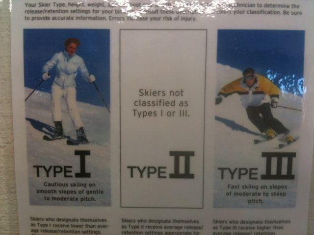 El instalador usará la información en el formulario, su capacidad y el tipo de esquí para determinar la longitud de los esquís