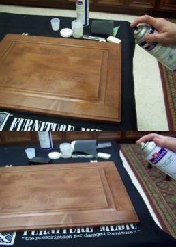 Opciones alternativas: Sello en la quemadura clara con la quemadura en sellador o EZ Vinyl sellador.