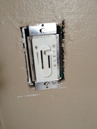 Eliminada la placa de pared