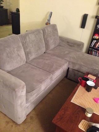Disfruta de tu sofá nuevo acolchado y muy cómodas!