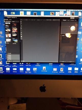 aquí's the start up screen.