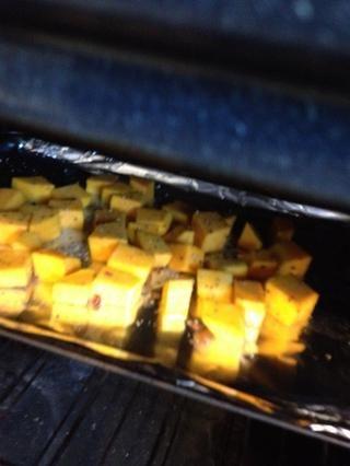 En el horno…