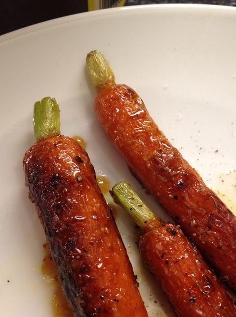 Cómo asar Zanahorias Receta