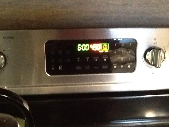 Precaliente el horno a 450
