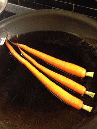 Caída de las zanahorias