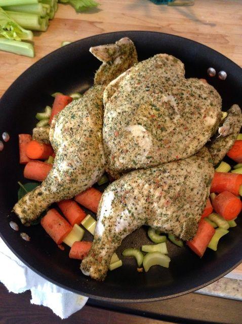 Cómo asar pollo! Muy sencilla y deliciosa receta