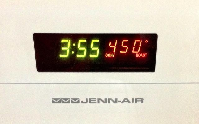 450 grados F.