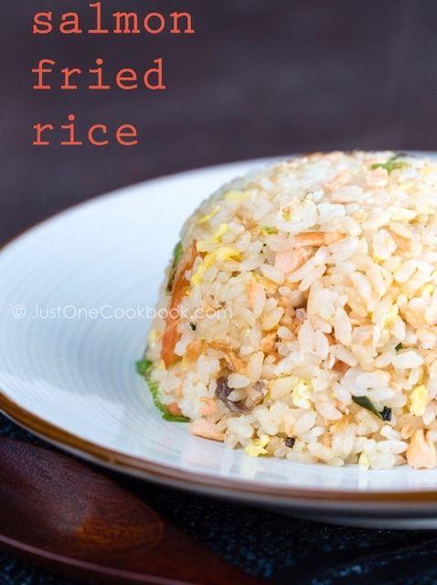 Fotografía - Cómo Salmón Fried Rice