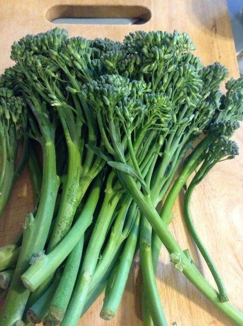 Cómo Saltear bebé Brócoli (Broccolini) Con Oyster Salsa Receta
