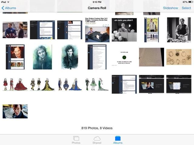 Como se puede ver en mis fotos, el GIF doesn't play. (bottom left, click to see whole picture.)
