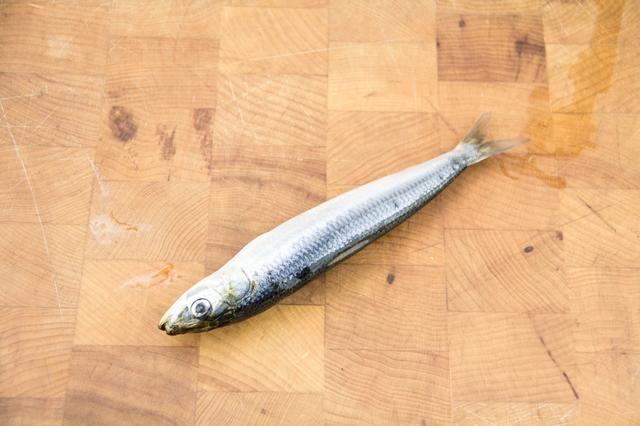 Comience por la ampliación a toda la sardina.