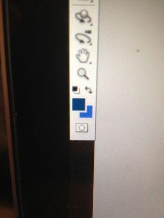 Como se ve el gotero automáticamente agrega a su paleta de colores.
