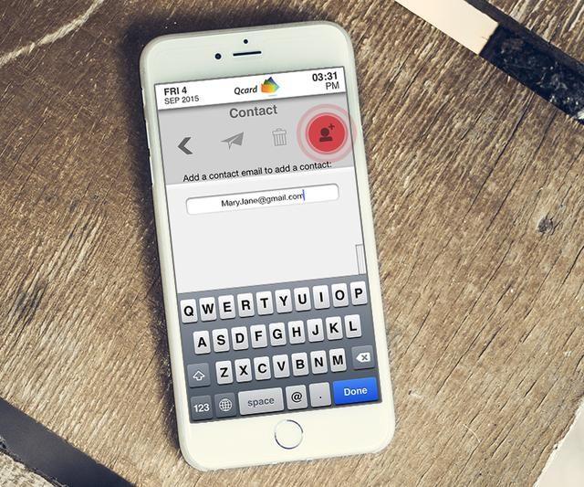 Toque este icono para enviar la solicitud de amigo.