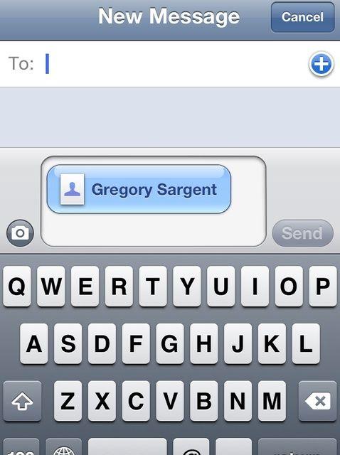 Cómo enviar su tarjeta de contacto a través de texto o correo electrónico