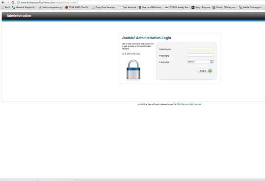 Vaya a su página de administración. Debe ser lo que su URL es seguido por / admin o / administrador. Utilice el registro en el nombre y la contraseña que acaba de configurar durante la instalación final para iniciar sesión.