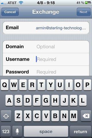 Introduzca su dirección de correo electrónico en el campo etiquetado'Email'