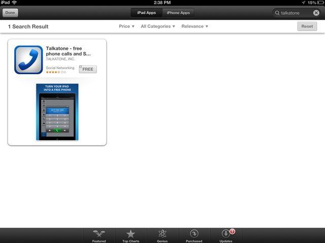 Cómo configurar Talkatone / Google Voice en tu iPad