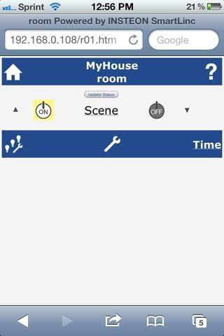 Ahora puede probar su dispositivo. Como se puede ver por encima de la caja amarilla detrás del botón de encendido refleja las luces de estado actual.