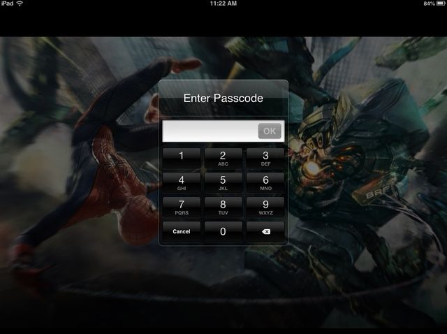 Cómo configurar una clave de acceso en un iPad