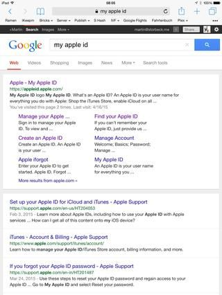 Ir a http://appleid.apple.com