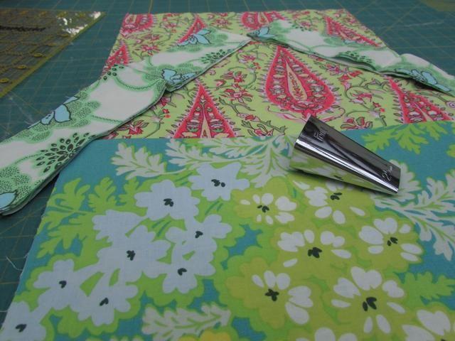 Ahora que he preparado todos mis materiales, puedo empezar a coser.