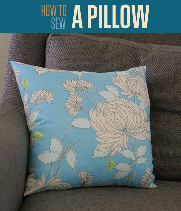 Fotografía - Cómo coser una almohada | Hacer Cubiertas cojín DIY