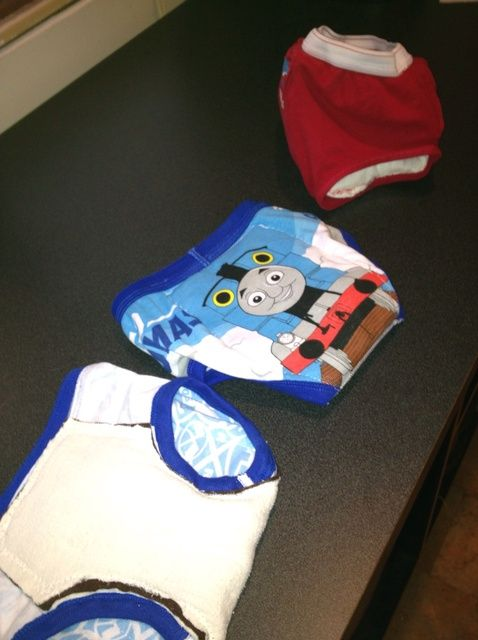 Fotografía - Cómo coser sus propios reutilizable niño pantalones de entrenamiento