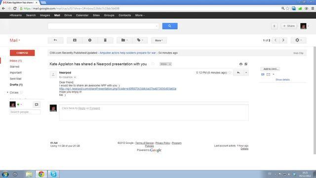 Este es el correo electrónico que los usuarios reciben cuando alguien comparte una central nuclear con ellos :) Una vez que obtenga una central nuclear de otra persona, puede editarlo, también.