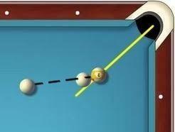 Como se puede ver aquí. Si mi objetivo para ese punto central. Las bolas no hacer contacto en ese momento debido a la masa y forma de las bolas de centro.