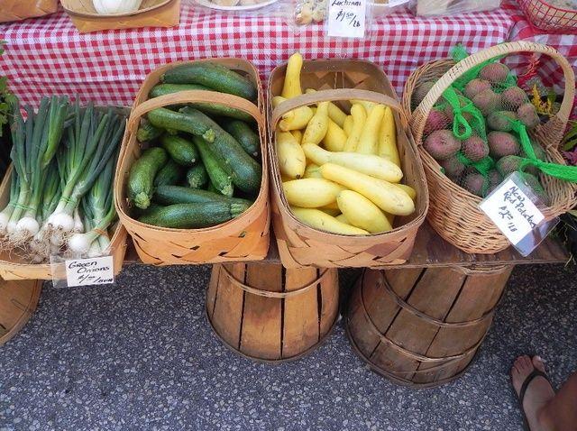Cómo hacer compras en el Farmer's Market