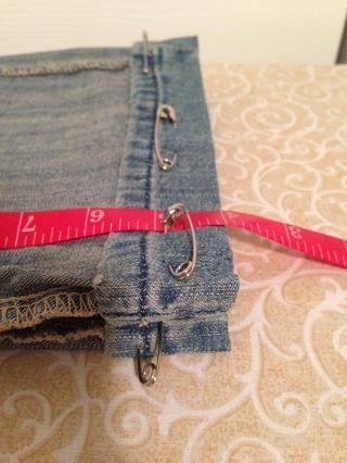 Si la costura original es de menos de 1,25