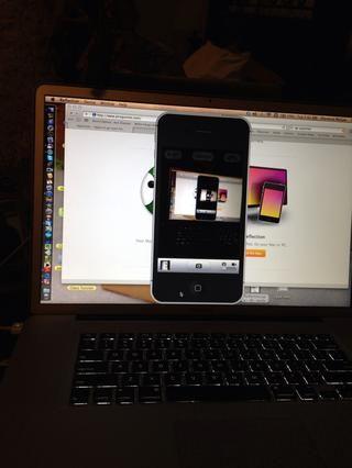Puede reflejar su iPhone o su iPad o cualquier dispositivo móvil! Yo creo que va a funcionar bien en tu Mac o tu PC