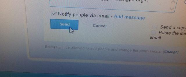 Haga clic en Enviar para devolver el documento a la maestra.