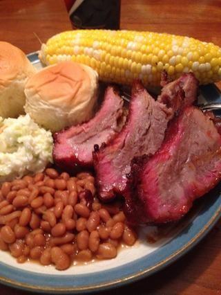Hazte un gran plato de comida y disfrutar!