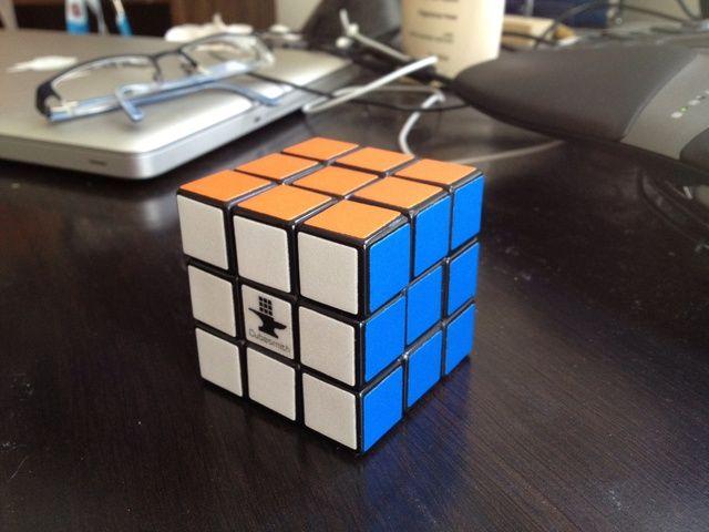 Enhorabuena, ha resuelto un Rubik's cube!